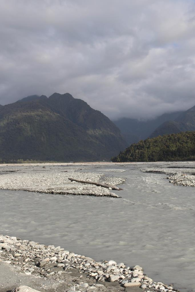 This is a glacier fed river.
