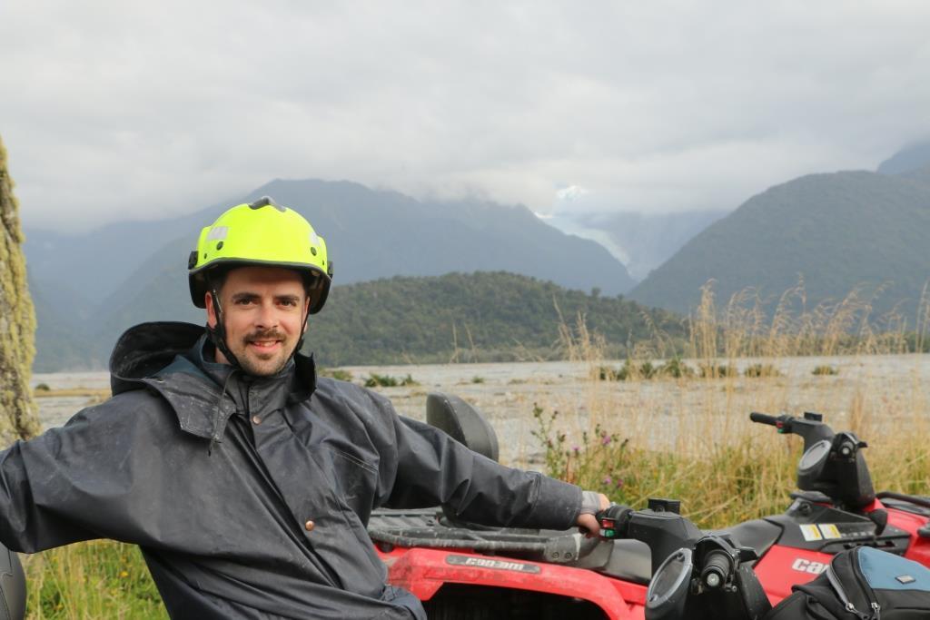 Mark with a Glacier
