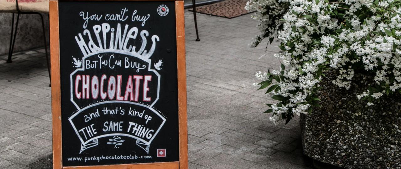 Chocolate-Sign